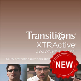 Transitions XTRActive brown 1.50