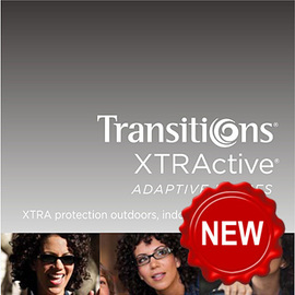 Transitions XTRActive gray 1.50